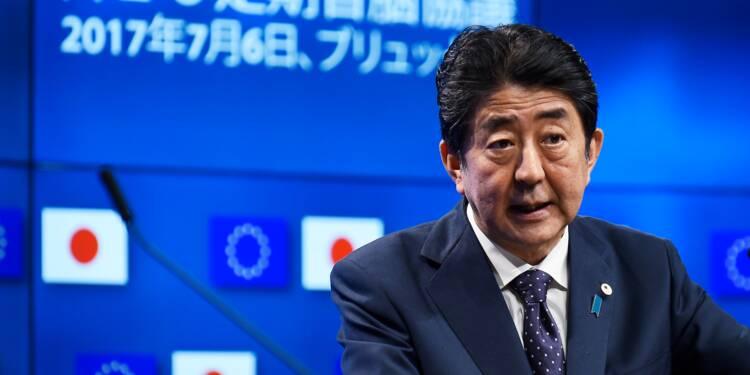 """L'UE et le Japon ont """"finalisé"""" leur accord de libre-échange"""