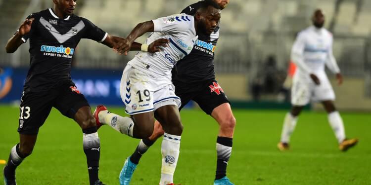 Ligue 1: Bordeaux se saborde devant Strasbourg