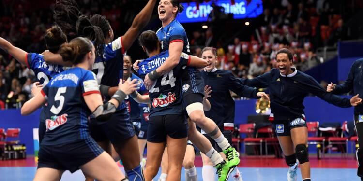 Mondial de handball dames: les Françaises battent la Roumanie