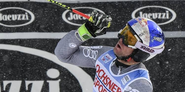 Ski: Pinturault, la 20e ou la victoire de la maturité à Val d'Isère