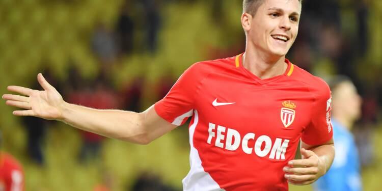 Ligue 1: Carrillo, à l'envie, sauve Monaco du désastre