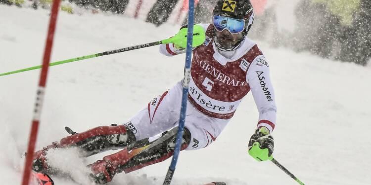 Ski: Hirscher reprend ses bonnes habitudes en remportant le slalom de Val d'Isère