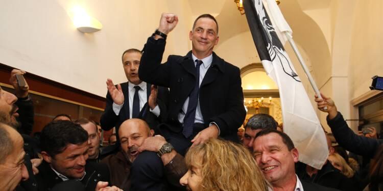 Corse: les nationalistes triomphent et appellent le gouvernement à négocier
