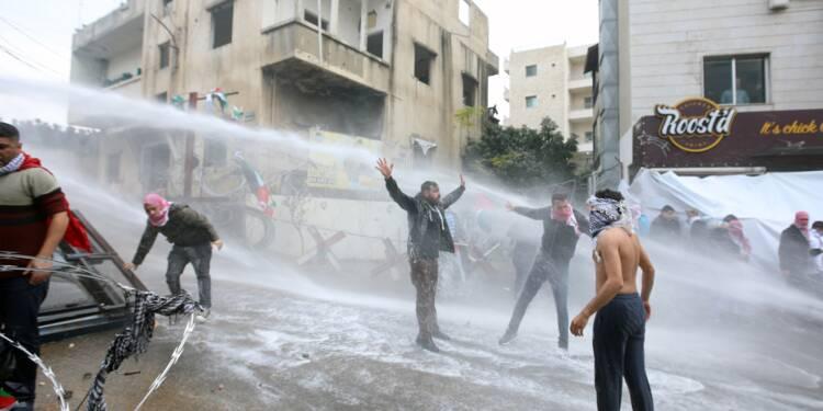 Heurts lors d'une manifestation près de l'ambassade américaine au Liban