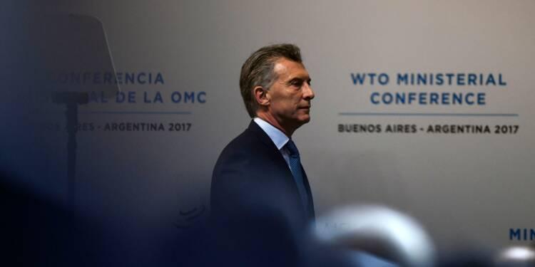 Le président argentin défend l'OMC, qui se réunit à Buenos Aires