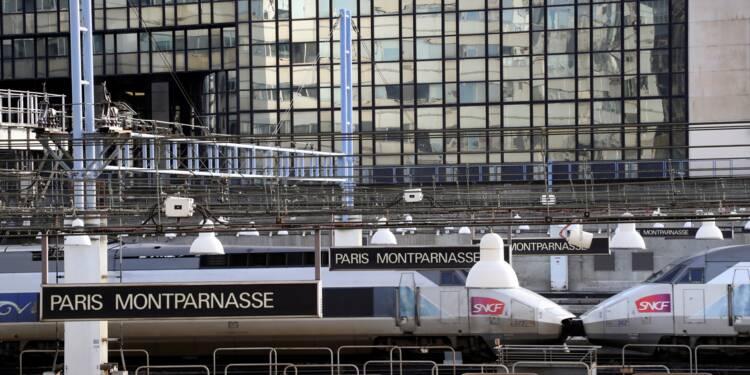 La gare Montparnasse touchée par une panne d'éclairage et de téléaffichage