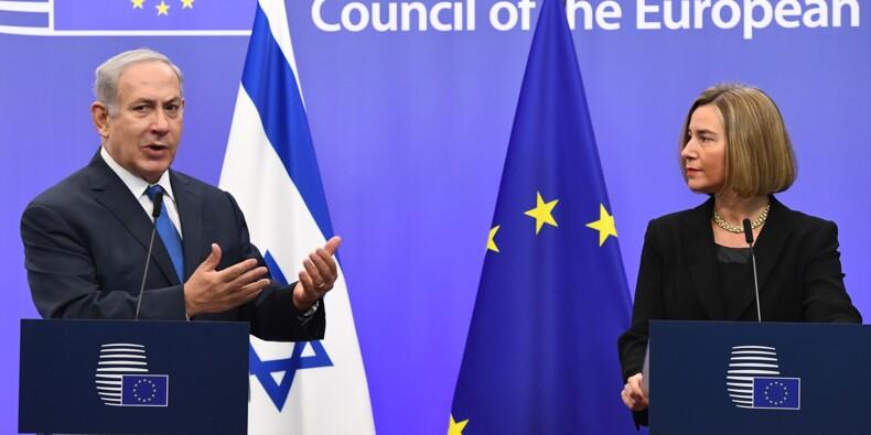 Jérusalem: Netanyahu défend la décision de Trump devant l'UE