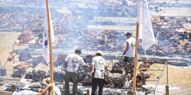 L'Uruguay bat le record du plus grand barbecue au monde
