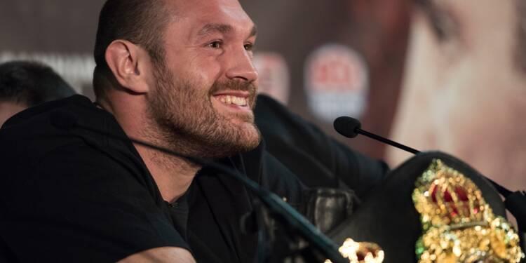 Boxe: Tyson Fury autorisé à combattre à nouveau