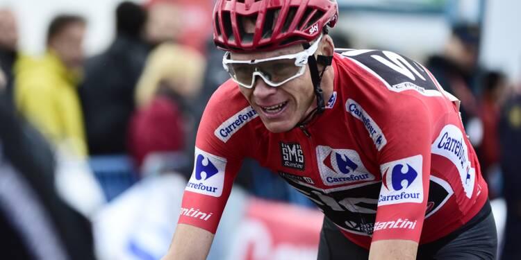 """Dopage/Cyclisme: Froome assure avoir """"suivi les conseils du médecin"""""""