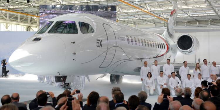 FALCON 5X — Dassault Aviation