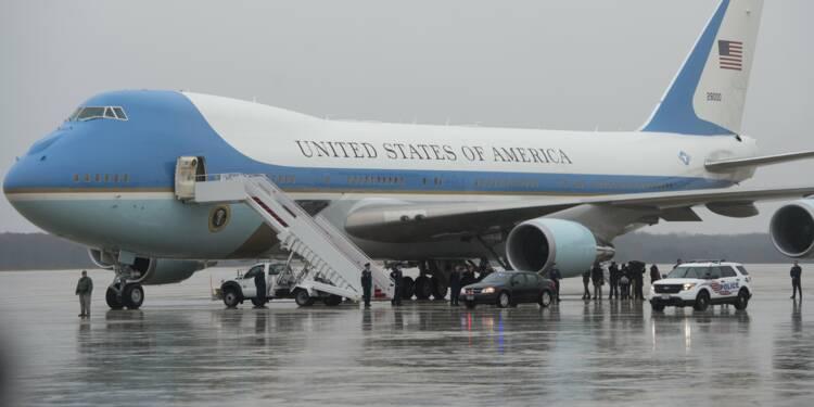 Le Pentagone confirme la commande de deux avions présidentiels à Boeing