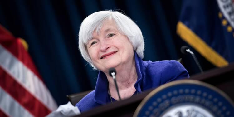 Fed: vers des taux inchangés pour la dernière réunion de Janet Yellen