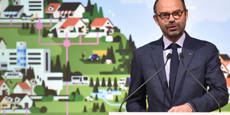 """Zones blanches: Philippe espère boucler les négociations """"d'ici Noël"""""""