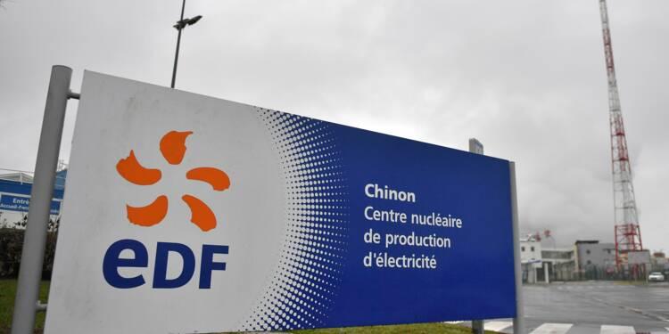"""EDF: la production nucléaire 2017 """"légèrement inférieure"""" à l'objectif"""