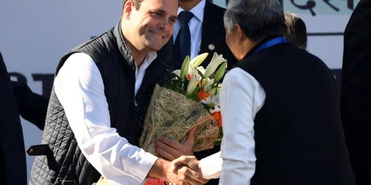 Inde: l'héritier Rahul Gandhi prend la tête du parti du Congrès