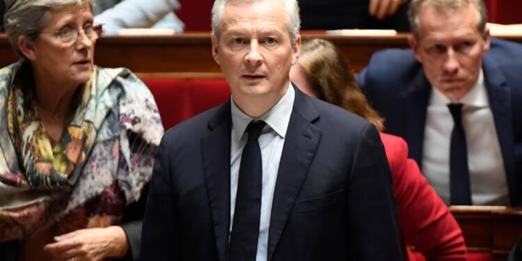 """Opposé au """"pillage"""", Le Maire dit refuser """"beaucoup"""" d'investissements chinois en France"""