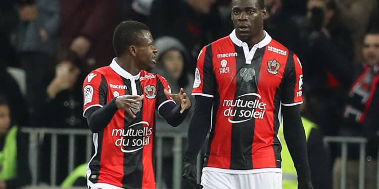 Ligue 1: Nice bat Bordeaux 1-0 et bondit à la 6e place