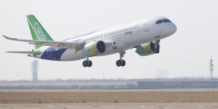 Deuxième vol réussi pour le C919, rival chinois d'Airbus et Boeing