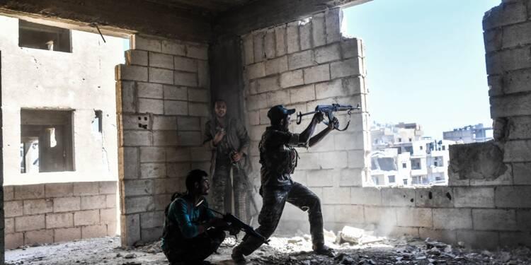"""2017, année de l'effondrement du """"califat"""" de l'EI"""