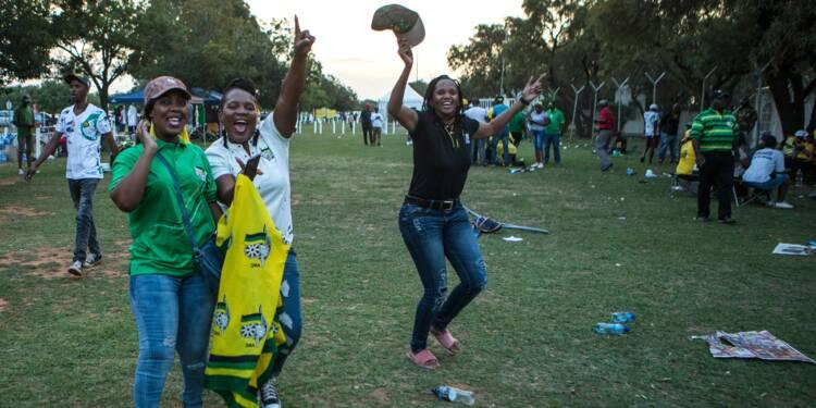L'ANC sauve son unité après une élection à suspense
