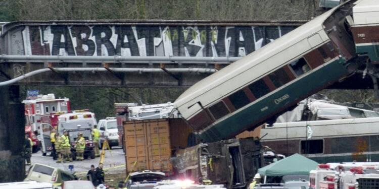 Etats-Unis: le train de DuPont roulait à 128 km/h au lieu de 48 km/h