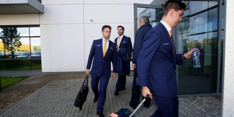 Ryanair: début de la grève du personnel de cabine, menaces sur les emplois de pilotes
