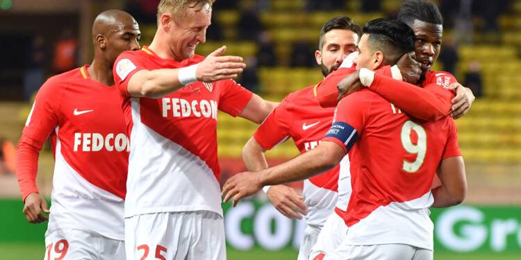 Ligue 1: Monaco finit 2e à la mi-saison, devant Lyon