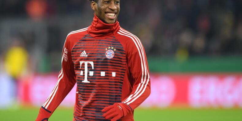Allemagne: le Bayern assure l'avenir et prolonge Coman jusqu'en 2023