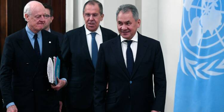 Syrie: Russie, Turquie et Iran tentent de relancer le dialogue à Astana