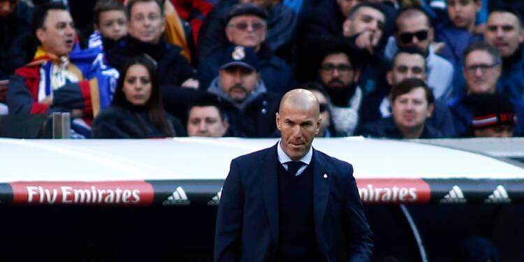 Real Madrid: morne réveillon pour Zidane après un an d'ivresse