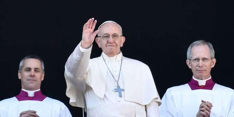 """Noël: le pape appelle à """"la paix pour Jérusalem"""""""