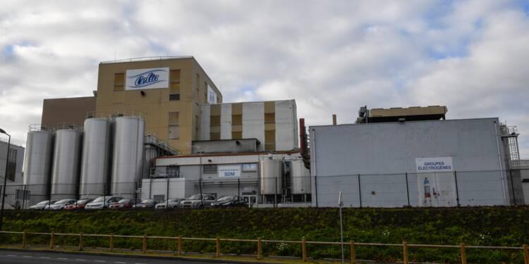 Lait contaminé: Lactalis redémarre discrètement l'usine incriminée