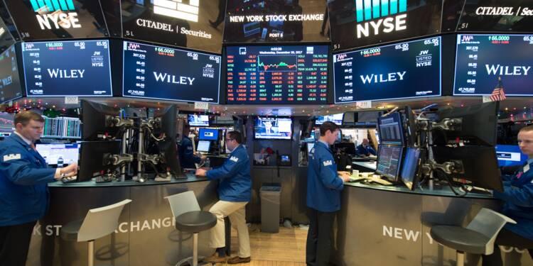 Wall Street finit l'année sur une baisse