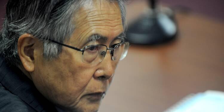 """Pérou: après avoir été gracié, Fujimori demande """"pardon"""""""