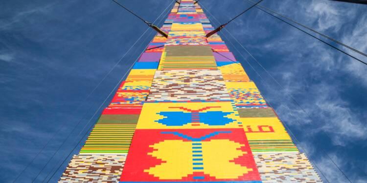 Israël: une tour en Lego de 36 mètres, candidate au Guinness