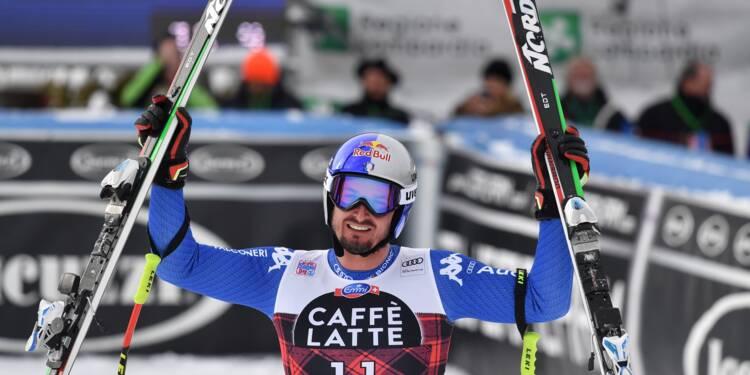 Ski: Dominik Paris s'impose à domicile dans la descente de Bormio