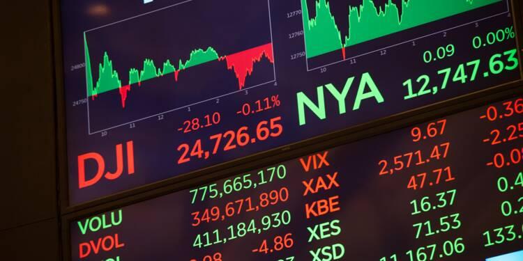 Wall Street: le Dow Jones à un record, aidé par le recul du dollar