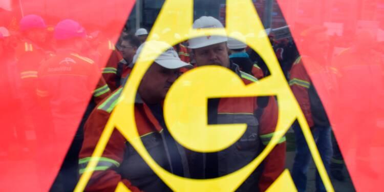 Les métallos allemands veulent coûte que coûte les 28 heures