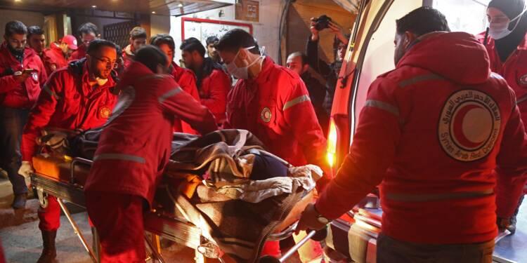 Syrie: fin d'une opération d'évacuation de malades dans une zone assiégée