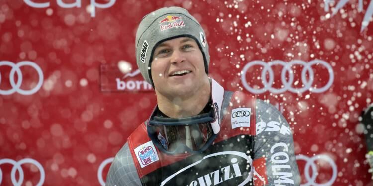 Ski: Pinturault roi du combiné à Bormio