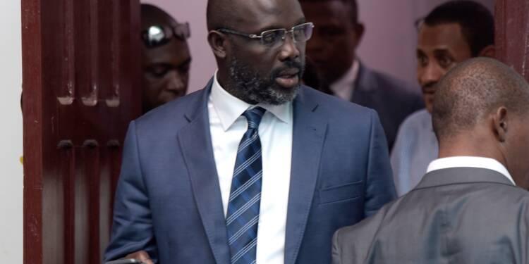 George Weah président-élu du Liberia après un scrutin exemplaire