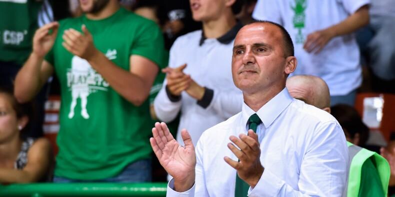 Basket: décès de l'ex-joueur et président de Limoges Frédéric Forte