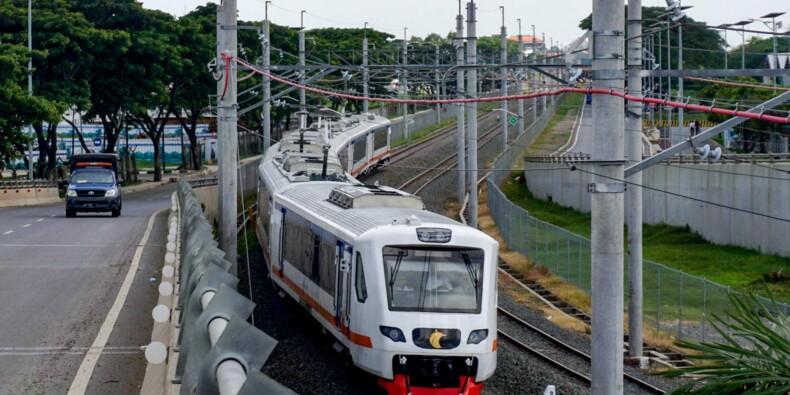 Un train pour désengorger la route de l'aéroport de Jakarta