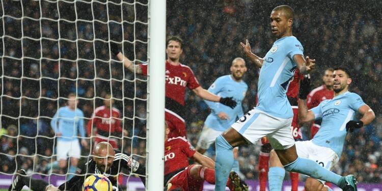 Manchester City repart de l'avant et prend 15 points d'avance