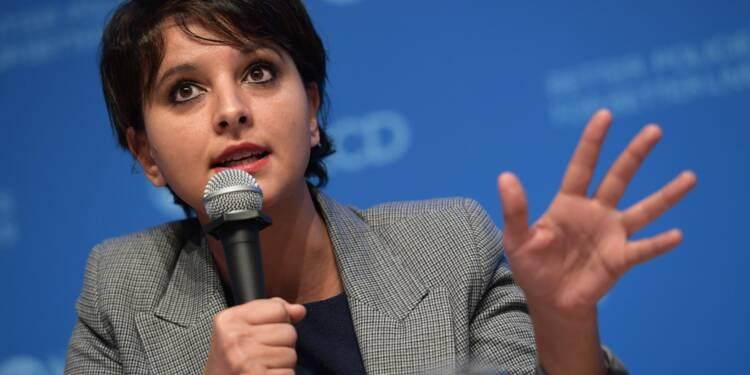 Vallaud-Belkacem annonce qu'elle ne briguera pas la tête du PS