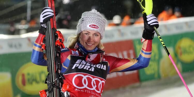 Ski alpin: Shiffrin intraitable survole le slalom de Zagreb