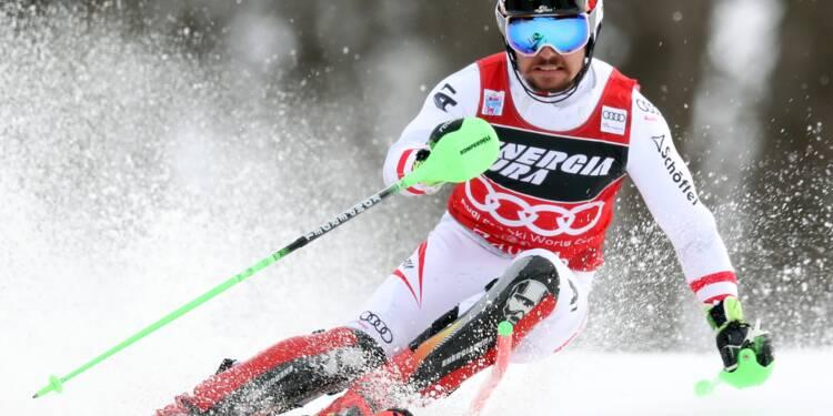 Ski: Hirscher rejoint Tomba pour sa 50e