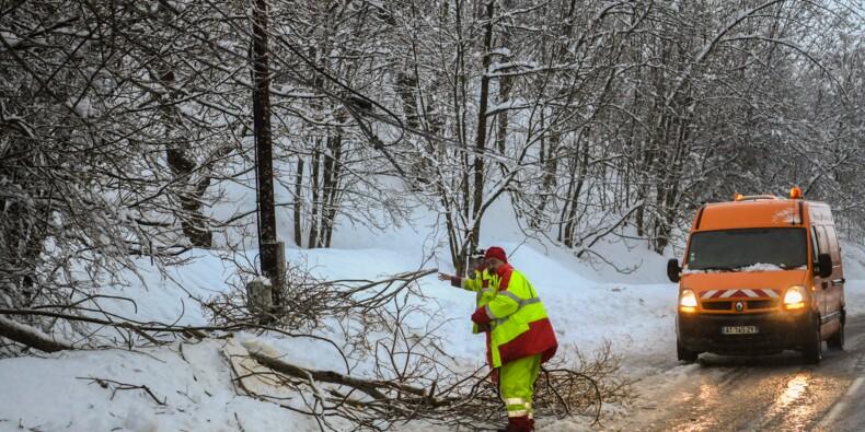 Tempête Eleanor: encore 29.000 foyers privés d'électricité en France