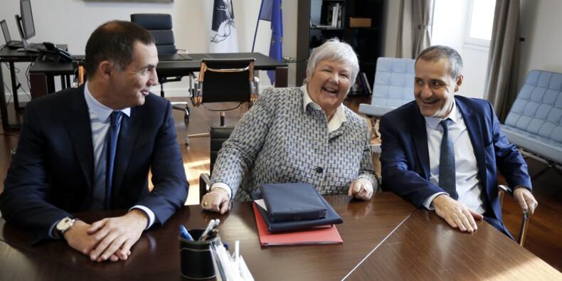 """Corse: Talamoni et Simeoni saluent un """"déblocage"""" des discussions"""